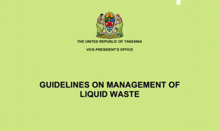 Guidelines on management of liquid waste